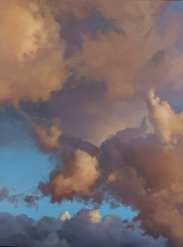 joyful clouds | 24 x 18 in. oil on canvas | SOLD private collection