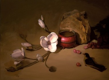 "scent of hope | 18"" x 24"" oil on canvas - SOLD private collection"