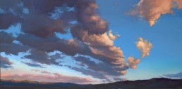 sierra wave | 12 x 24 in. oil on board | SOLD private collection