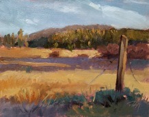 tahoe meadow fall | 10 x 8 in. oil on canvas board- SOLD private collection
